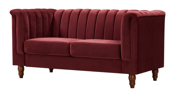 Glory Furniture Sunset Burgundy Loveseat GLRY-G0559A-L
