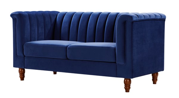 Glory Furniture Sunset Navy Blue Loveseat GLRY-G0560A-L