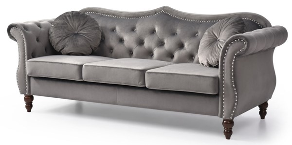 Glory Furniture Hollywood Dark Gray Sofa GLRY-G0660A-S