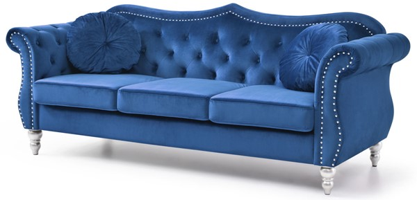 Glory Furniture Hollywood Navy Blue Sofa GLRY-G0661A-S
