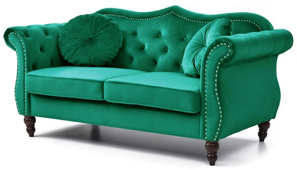 Glory Furniture Hollywood Green Loveseat GLRY-G0662A-L
