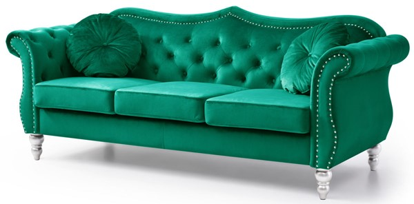 Glory Furniture Hollywood Green Sofa GLRY-G0662A-S