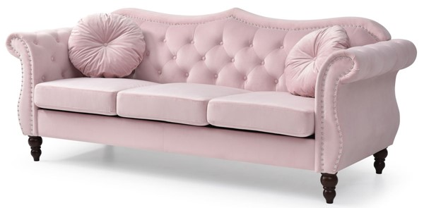 Glory Furniture Hollywood Pink Sofa GLRY-G0664A-S
