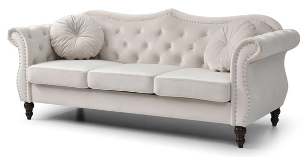 Glory Furniture Hollywood Ivory Sofa GLRY-G0667A-S