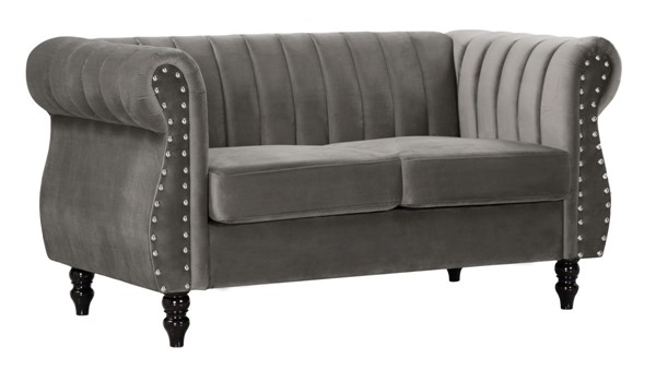 Glory Furniture Westwood Dark Gray Loveseat GLRY-G0690A-L
