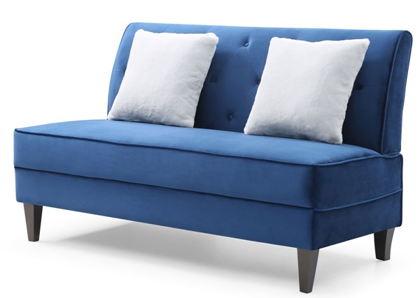 Glory Furniture Benedict Navy Blue Sofa GLRY-G071-S