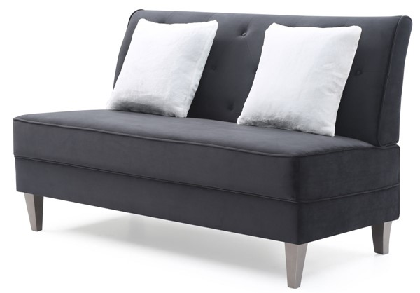 Glory Furniture Benedict Black Sofa GLRY-G073-S