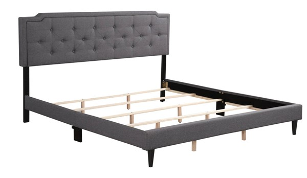 Glory Furniture Deb Gray King Bed GLRY-G1104-KB-UP