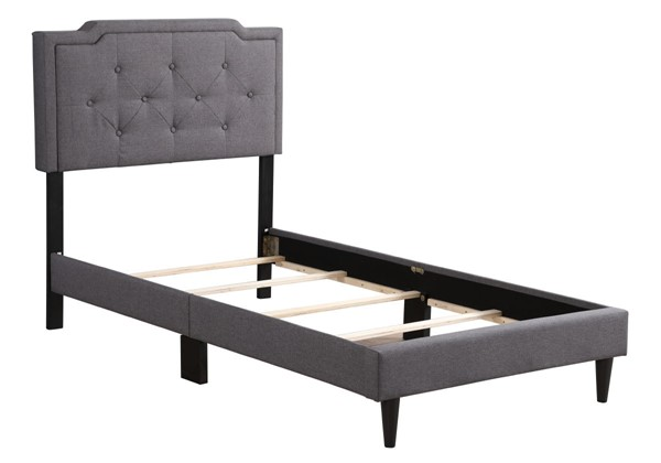 Glory Furniture Deb Gray Twin Bed GLRY-G1104-TB-UP