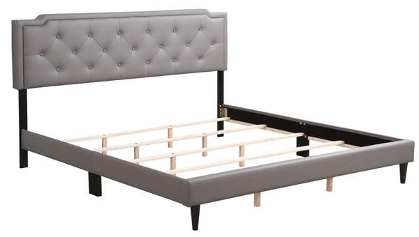 Glory Furniture Deb Casual Light Grey King Bed GLRY-G1112-KB-UP
