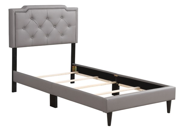 Glory Furniture Deb Light Grey Twin Bed GLRY-G1112-TB-UP
