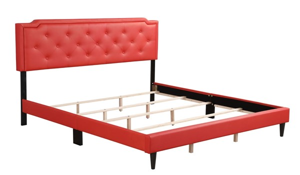 Glory Furniture Deb Casual Red King Bed GLRY-G1117-KB-UP
