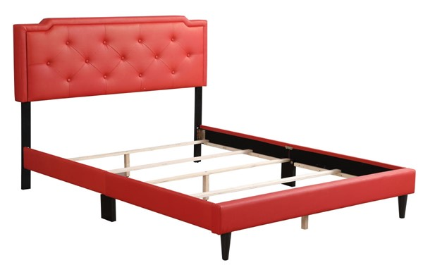 Glory Furniture Deb Red Full Bed GLRY-G1117-FB-UP