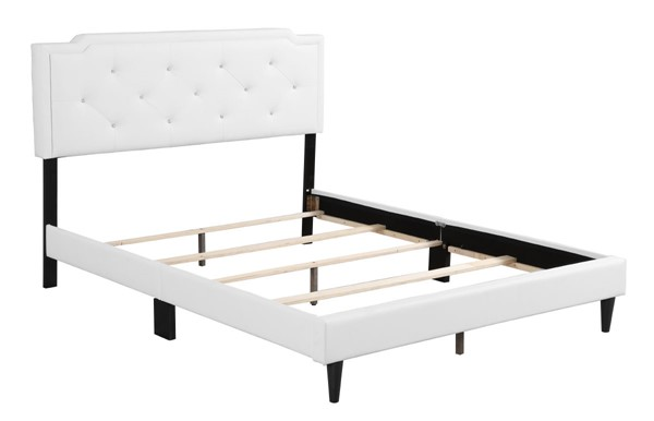 Glory Furniture Deb White Queen Bed GLRY-G1118-QB-UP