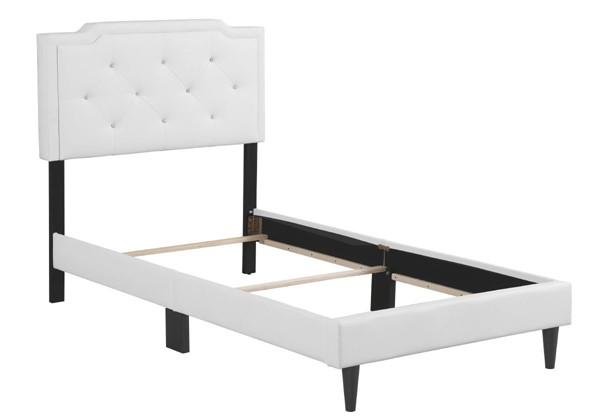 Glory Furniture Deb White Twin Bed GLRY-G1118-TB-UP