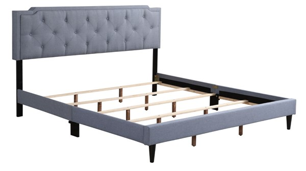 Glory Furniture Deb Blue King Bed GLRY-G1123-KB-UP