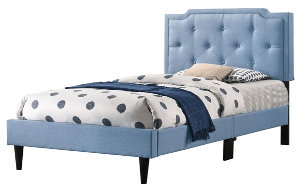 Glory Furniture Deb Blue Twin Bed GLRY-G1123-TB-UP