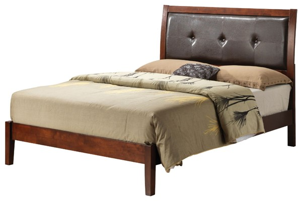 Glory Furniture Darden Contemporary Cherry Full Beds GLRY-G1200A-BED-VAR