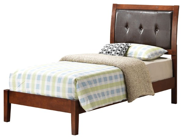 Glory Furniture Darden Contemporary Cherry Twin Bed GLRY-G1200A-TB
