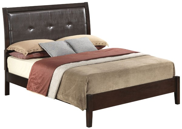 Glory Furniture Darden Contemporary Cappuccino Queen Bed GLRY-G1225A-QB