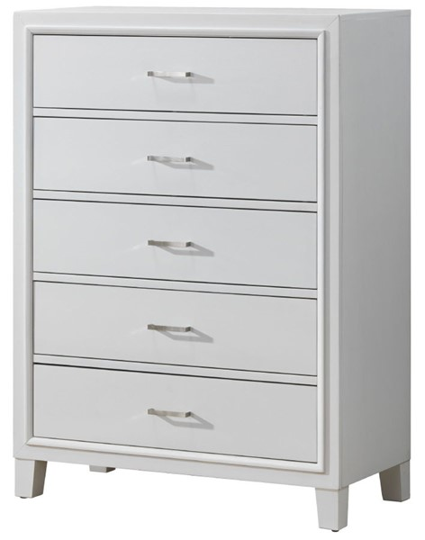 Glory Furniture Darden Contemporary White Chest GLRY-G1275-CH