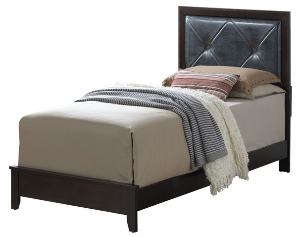 Glory Furniture Primo Transitional Espresso Twin Bed GLRY-G1300A-TB