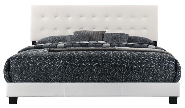Glory Furniture Caldwell Contemporary White King Bed GLRY-G1305-KB-UP