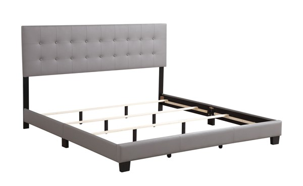 Glory Furniture Caldwell Light Grey Full Bed GLRY-G1306-FB-UP