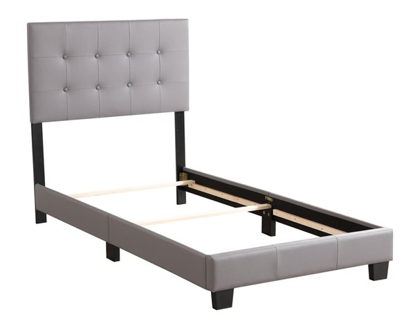 Glory Furniture Caldwell Light Grey Twin Bed GLRY-G1306-TB-UP