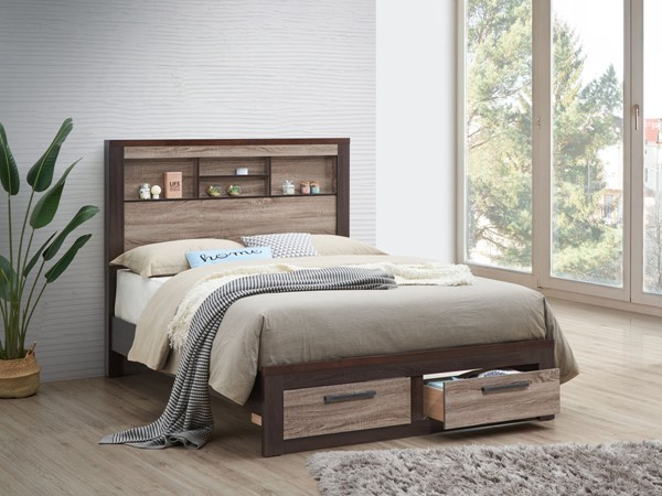 Glory Furniture Magnolia Gray Brown Beds GLRY-G1400B-BED-VAR