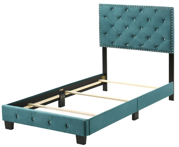 Glory Furniture Suffolk Casual Green Twin Bed GLRY-G1404-TB-UP