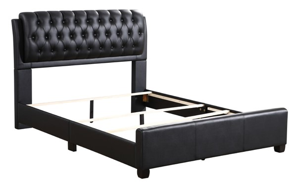Glory Furniture Marilla Contemporary Black Queen Bed GLRY-G1500C-QB-UP