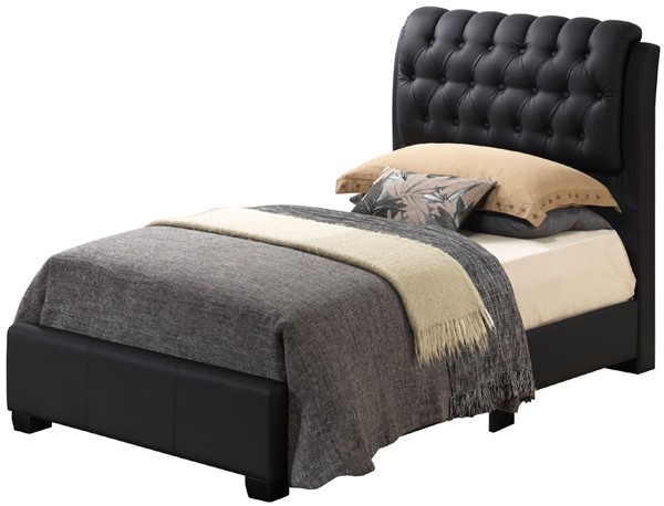 Glory Furniture Marilla Contemporary Black Twin Bed GLRY-G1500C-TB-UP