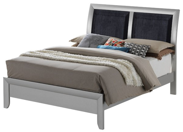 Glory Furniture Marilla Silver Champagne King Bed GLRY-G1503A-KB