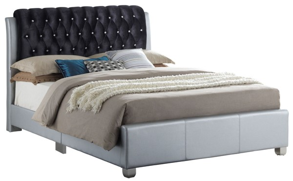 Glory Furniture Marilla Contemporary Silver Full Bed GLRY-G1503C-FB-UP