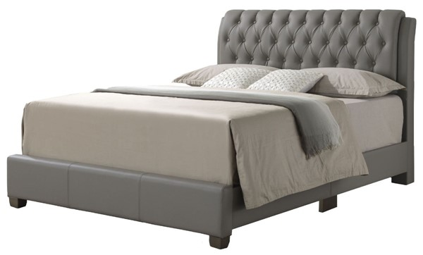 Glory Furniture Marilla Contemporary Light Grey King Bed GLRY-G1505C-KB-UP