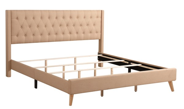 Glory Furniture Bergen Contemporary Tan Full Bed GLRY-G1620-FB-UP