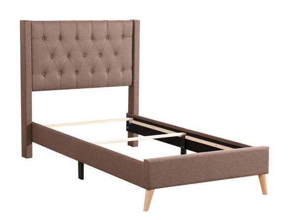 Glory Furniture Bergen Contemporary Brown Twin Bed GLRY-G1621-TB-UP