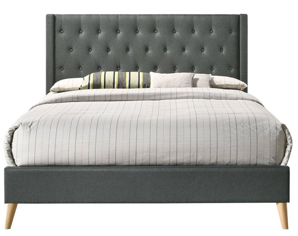 Glory Furniture Bergen Contemporary Gray King Bed GLRY-G1622-KB-UP