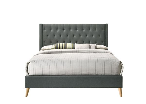 Glory Furniture Bergen Contemporary Gray Queen Bed GLRY-G1622-QB-UP