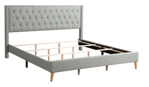 Glory Furniture Bergen Green Queen Bed GLRY-G1623-QB-UP