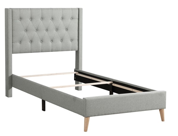 Glory Furniture Bergen Contemporary Green Twin Bed GLRY-G1623-TB-UP