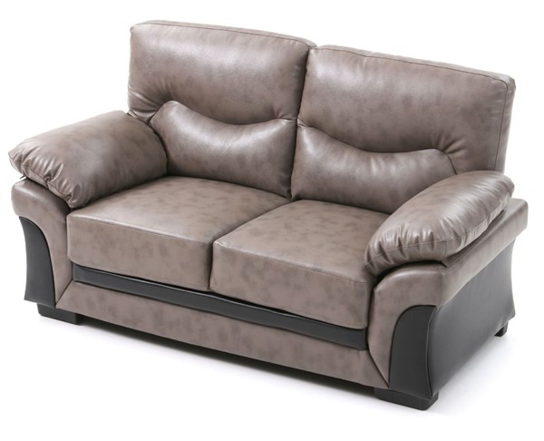 Glory Furniture Vince Transitional Gray Loveseat GLRY-G167-L