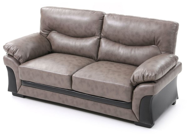 Glory Furniture Vince Transitional Gray Sofa GLRY-G167-S