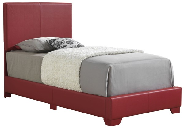 Glory Furniture Aaron Casual Dark Red Twin Bed GLRY-G1825-TB-UP