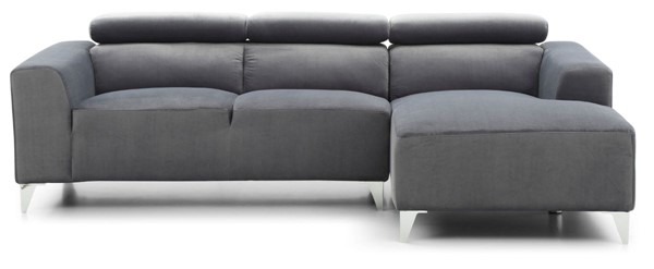Glory Furniture Italia Contemporary Gray Sectionals GLRY-G19-SEC-VAR