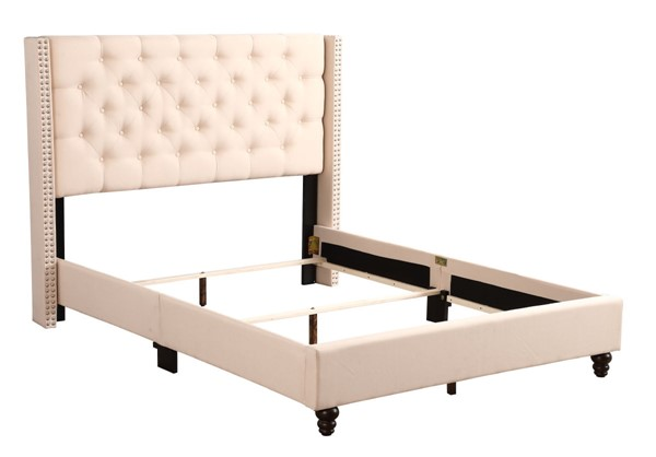 Glory Furniture Julie Transitional Beige Full Upholstered Bed GLRY-G1903-FB-UP