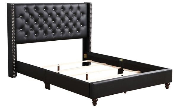 Glory Furniture Julie Black Full Upholstered Bed GLRY-G1919-FB-UP