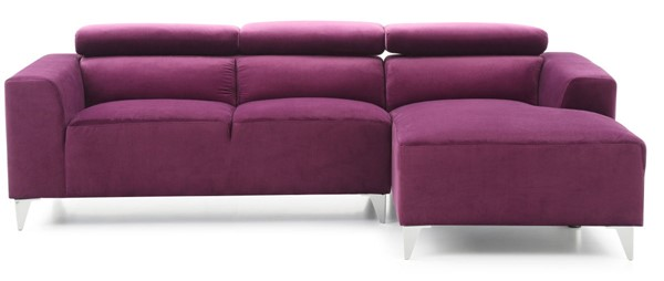Glory Furniture Italia Contemporary Purple Sectional GLRY-G192-SCH