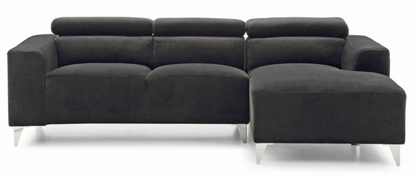 Glory Furniture Italia Contemporary Black Sectional GLRY-G193-SCH